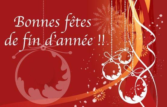 Bonnes fêtes à tous et toutes