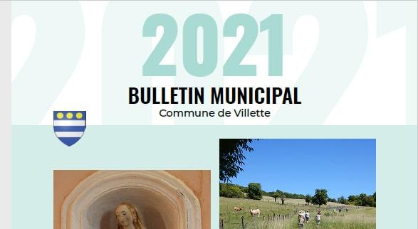 Le bulletin 2021 est là