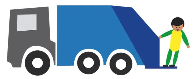 31 décembre 2020: Collecte des bacs de déchets